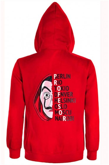 Money Heist La Casa De Papel Jacket with Hoodie