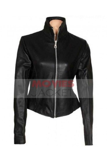 Moon Bloodgood Blair Williams Terminator Leather Jacket