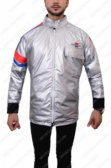 Moonrunners The Warriors Silver Satin Jacket