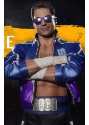 Mortal Kombat 11 Johnny Cage Blue Jacket