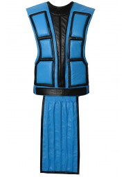 Sub Zero Mortal Kombat Leather Vest