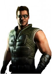 Johnny Cage Mortal Kombat X Quilted Green Leather Vest