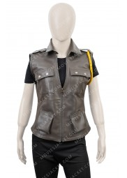 Sonya Blade Mortal Kombat X Soldier Leather Vest