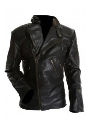Movie Staying Alive John Travolta Leather Jacket