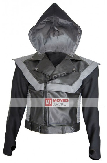 MTV Awards Usher Leather Jacket Hoodie
