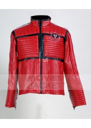 My Chemical Romance Kobra Kid Red Leather Motorcycle Jacket
