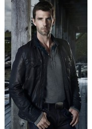 Nathan Wuornos Haven Lucas Bryant Leather Jacket