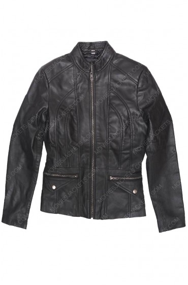 New Zealand Women's Lambskin Scuba Leather Jacket
