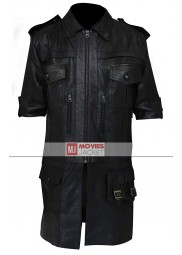 Noctis Final Fantasy 15 Black Leather Jacket