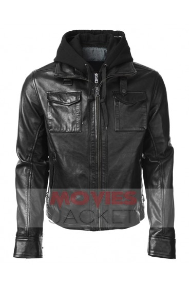 Stephen Amell as Oliver Queen Arrow Hooded Jacket