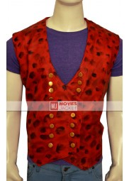 Captain Hook Once Upon a Time Leather Vest