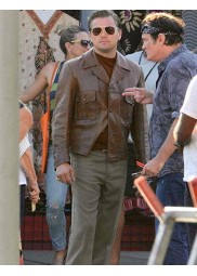Once Upon A Time In Hollywood Rick Dalton Leather Jacket