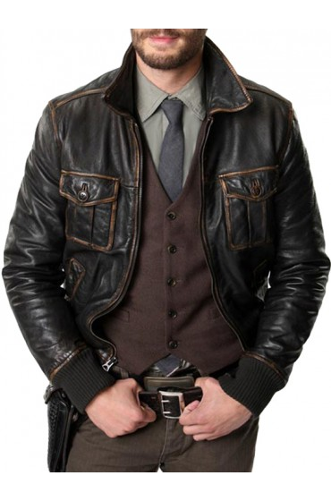 Once Upon a Time Jamie Dornan Leather Jacket