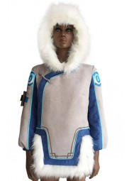 Overwatch Mei Fur Hooded Jacket