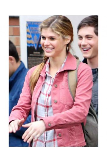 Percy Jackson Sea of Monsters Alexandra Daddario Jacket