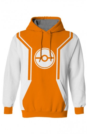 Pokemon Trainer Orange Hoodie