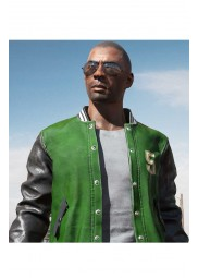 Playerunknowns Battlegrounds 5 Letterman Jacket