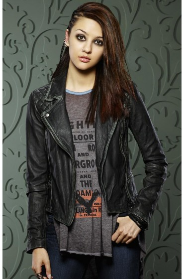 Rebecca Sutter How to Get Away with Murder Leather Jacket