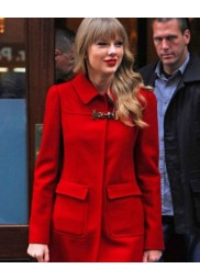 Red Bright Taylor Swift Jacket