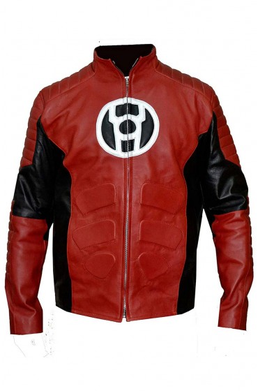 Red Lantern Leather Jacket