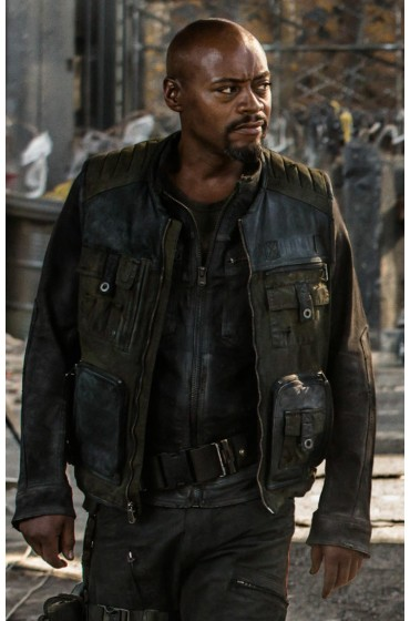 Razor Resident Evil The Final Chapter Leather Jacket