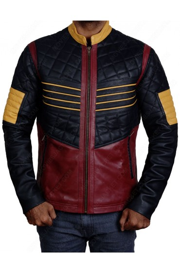Carlos Valdes The Flash Season 3 Reverb Leather Jacket