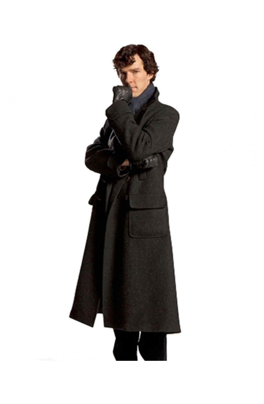 benedict cumberbatch sherlock coat sherlock holmes coat moviesjacket. Black Bedroom Furniture Sets. Home Design Ideas
