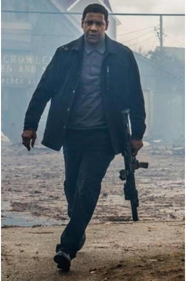 The Equalizer 2 Robert Mccall Wool Jacket