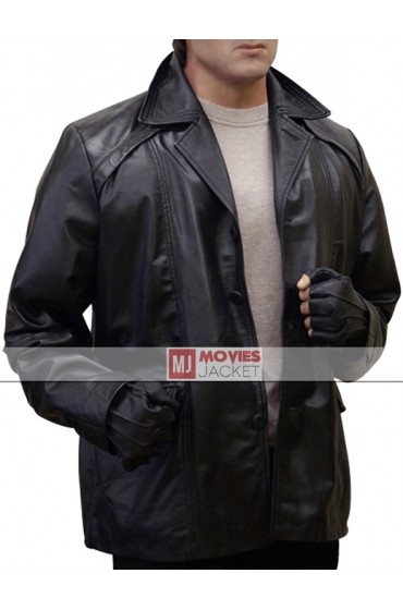 Sylvester Stallone Black Rocky Balboa Leather Jacket