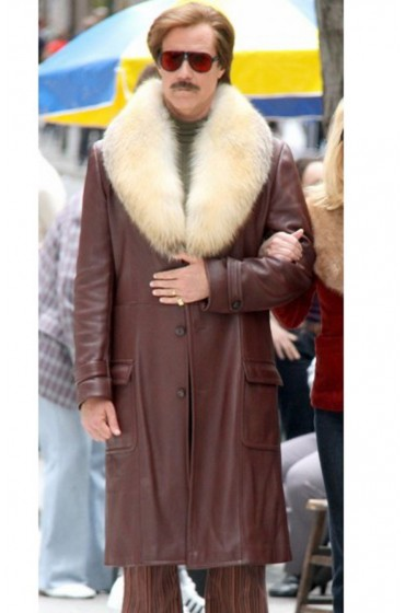 Ron Burgundy Anchorman 2 Will Ferrell Coat