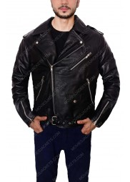 Ryan Gosling Motorcycle Leather Jacket