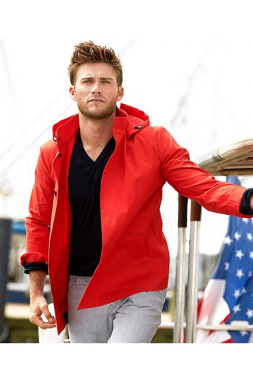Scott Eastwood The Longest Ride Luke Collins Orange Hoodie