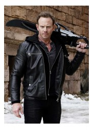 Sharknado 6 Fin Shepard Leather Jacket