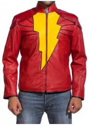 Shazam Movie Captain Marvel Jacket