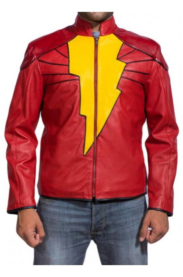 Captain Marvel Shazam Jacket
