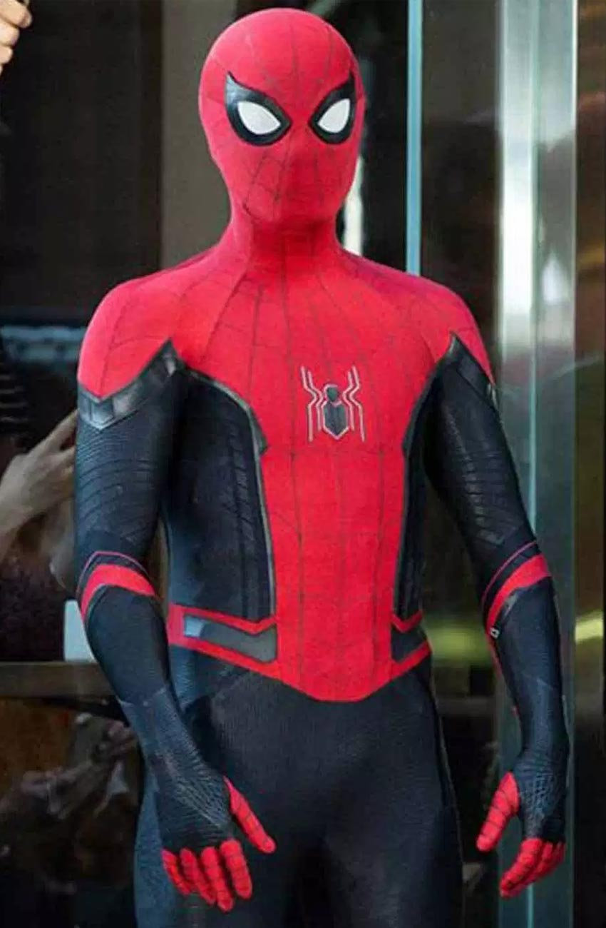 Peter Parker Spider Man Far From Home Jacket By Tom Holland