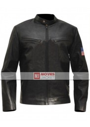 Stanley Jobson Swordfish Leather Jacket