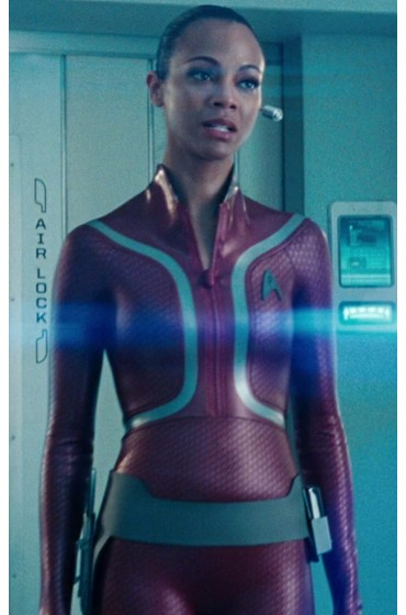 Star Trek Beyond Uhura Leather Jacket