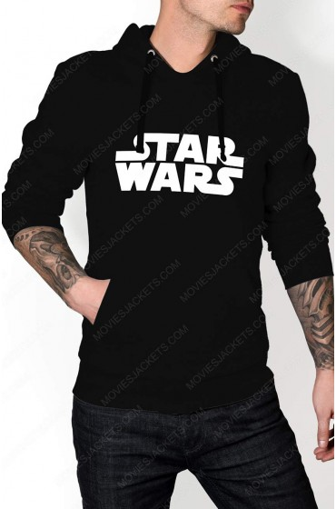 star wars logo hoodie best deals on movies jacket. Black Bedroom Furniture Sets. Home Design Ideas