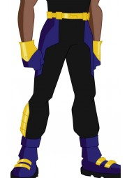 Static Shock Costume Pant