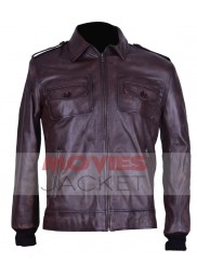 Steve Rogers Captain America Motorcycle Jacket