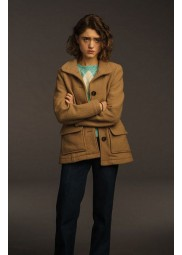 Stranger Things 3 Natalia Dyer Brown Jacket