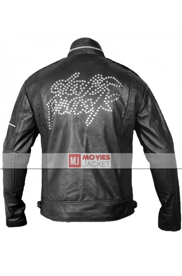 Studded Leather Daft Punk Jacket