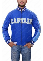 Suicide Squad Captain Boomerang Blue Jacket