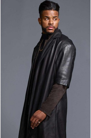 Superfly Youngblood Priest Leather Coat
