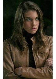 Bela Talbot Supernatural Lauren Cohan Leather Jacket