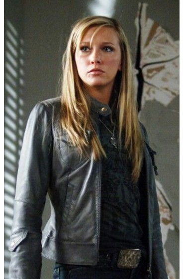 Supernatural Genevieve Padalecki Leather Jacket