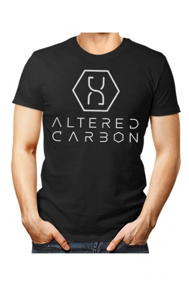 Takeshi Kovacs Altered Carbon Black T-Shirt