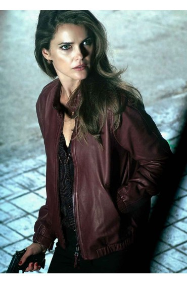 The Americans Keri Russell Leather Jacket