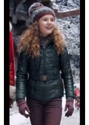 The Christmas Chronicles 2 Darby Camp Leather Jacket